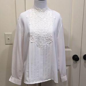 Vintage pheasant blouse